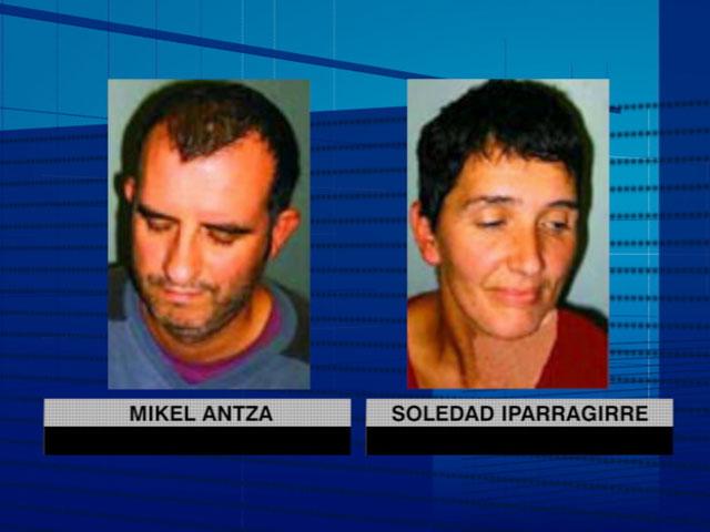 Los etarras Mikel Antza y Soledad Iparraguirre condenados a veinte años de cárcel