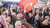 Euforia de simpatizantes de Syriza