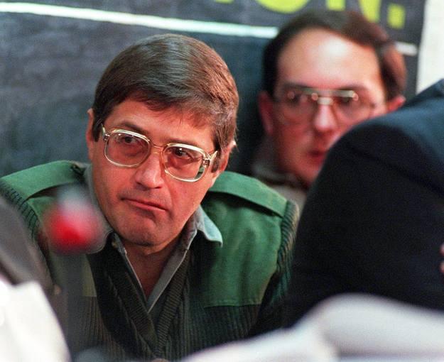 Eugene De Kock en Pretoria en una imagen de 1998