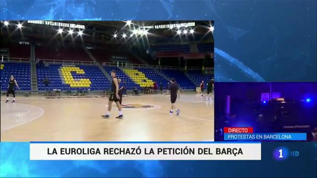Ir al VideoLa Euroliga rechaza cambiar el partido entre el Barcelona y el Alba Berlín