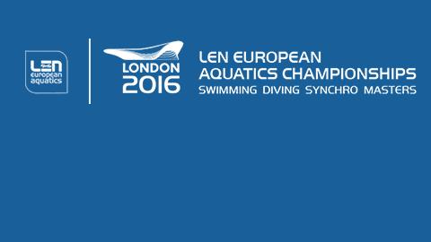 Europeo de Natación de Londres 2016