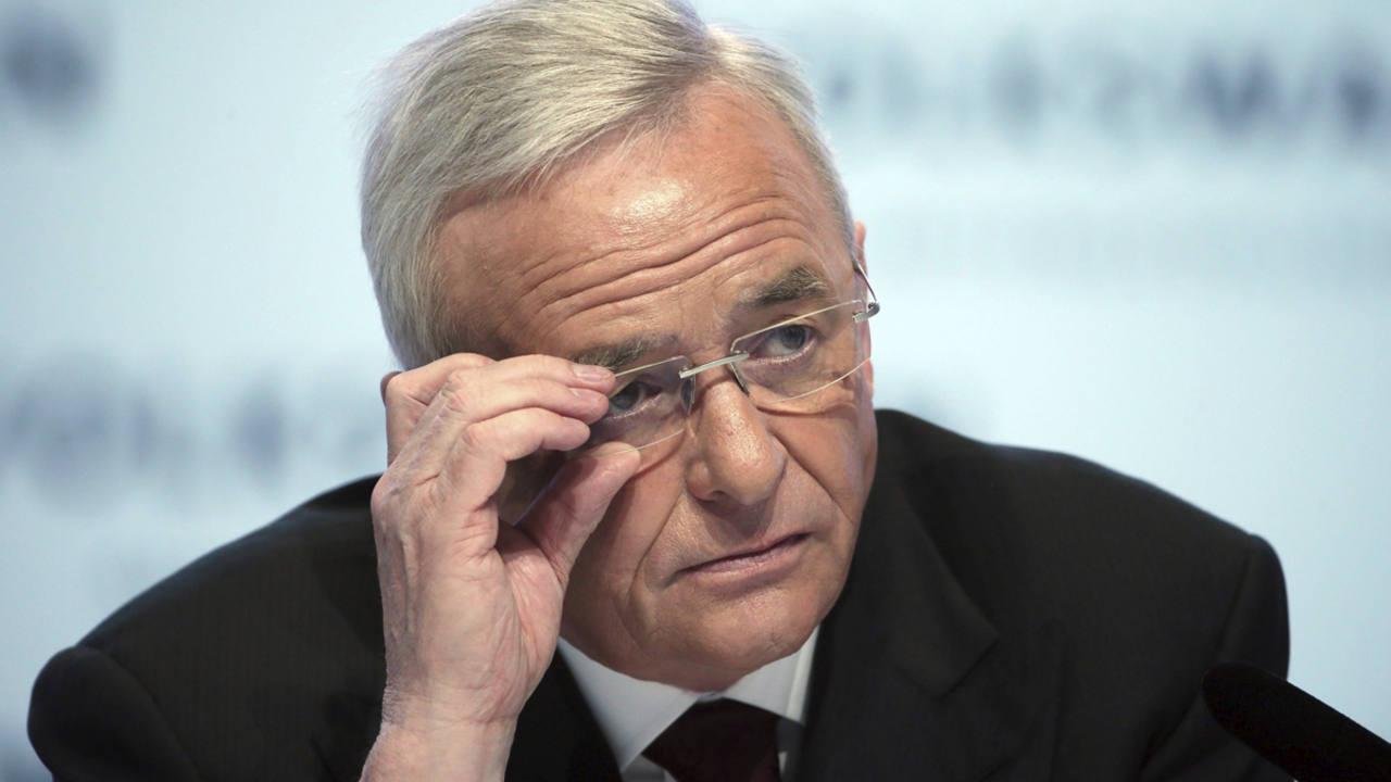 El ex consejero delegado de Volkswagen, Martin Winterkorn