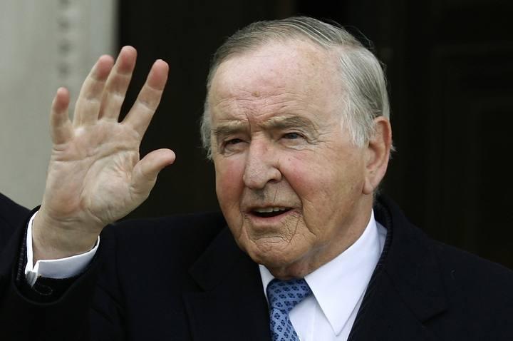 El ex Primer Ministro Irlandés, Albert Reynolds.