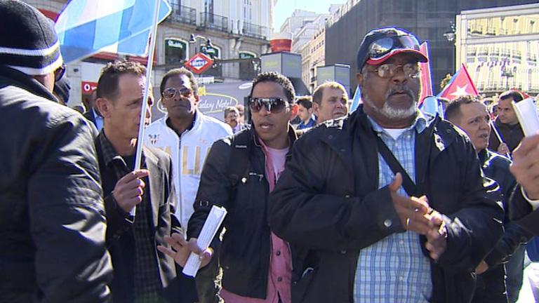 Los excarcelados cubanos piden al Gobierno español que continúen las ayudas del programa de acogida