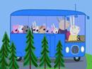 Imagen del  vídeo de Peppa Pig titulado DE EXCURSIÓN EN EL AUTOBÚS