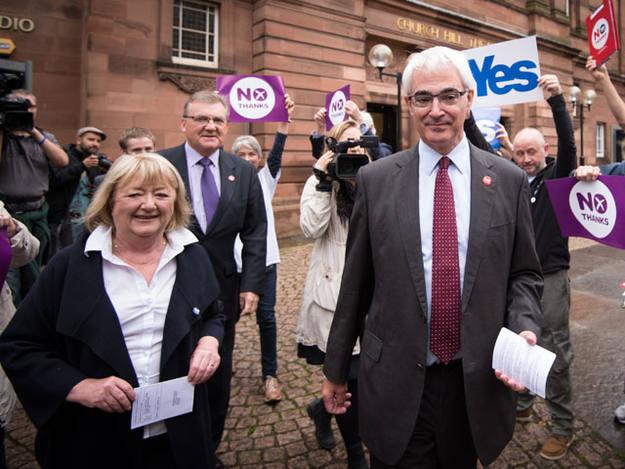 El exministro de Economía y líder de la campaña Mejor Juntos, Alistair Darling
