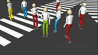Expertos japoneses crean una aplicación para que los peatones caminen seguros mientras usan su móvil
