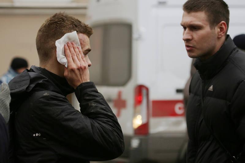 La explosión en el metro de San Petersburgo ha dejado varias decenas de heridos.
