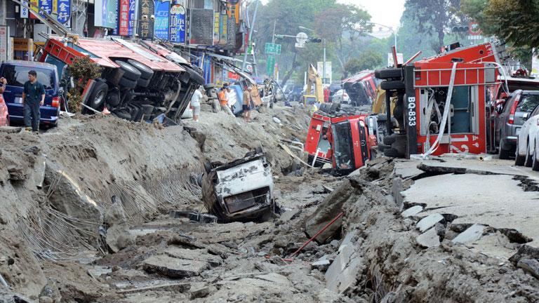 Al menos 25 personas han muerto tras unas explosiones en Taiwán