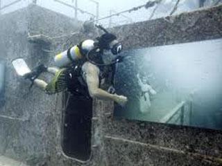 On Off: Exposición submarina
