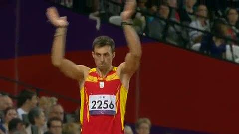 Expósito, oro en longitud en los Paralímpicos de Londres 2012