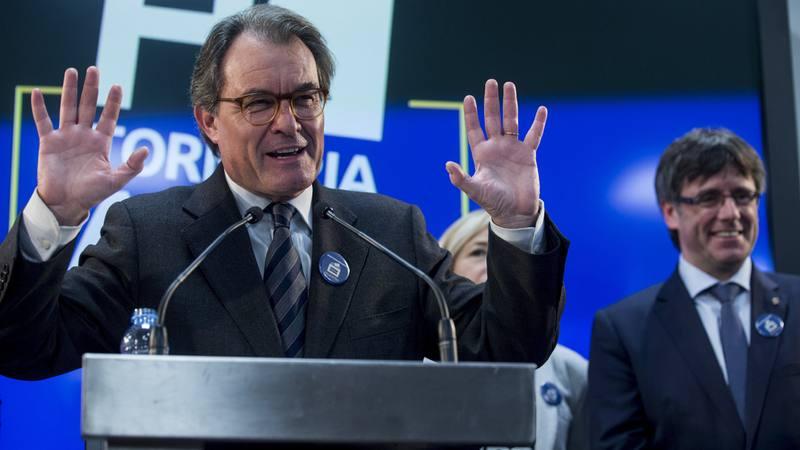 El expresidente de la Generalitat Artur Mas el pasado 13 de marzo tras la sentencia de inhabilitación por dos años.