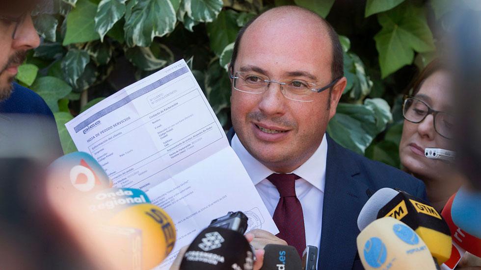 El expresidente de Murcia, el popular Pedro Antonio Sánchez ha declarado ante el juez como investigado por el caso Púnica