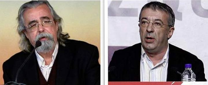 Expulsados Gregorio Gordo y Ángel Pérez, los portavoces de IU en Madrid