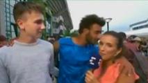 Video: Expulsan de Roland Garros al francés Hamou por propasarse con una periodista