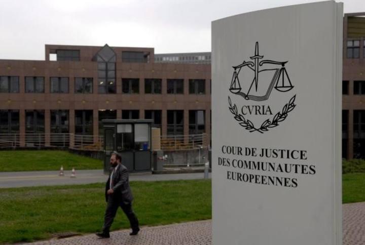 Exterior del Tribunal de Justicia de la UE en Luxemburgo