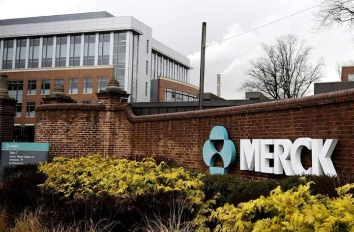 Exterior de las instalaciones de Merck en la localidad estadounidense de de Rahway