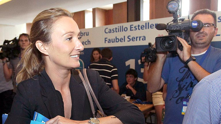 Andrea Fabra: "Mi reproche fue poco afortunado"