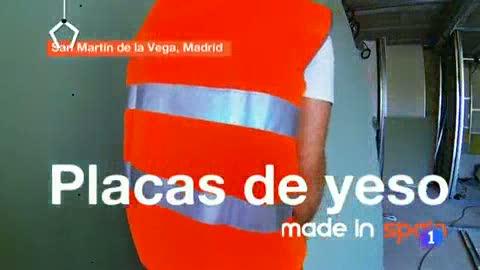 Fabricando Made in Spain - Fabricamos placas de yeso