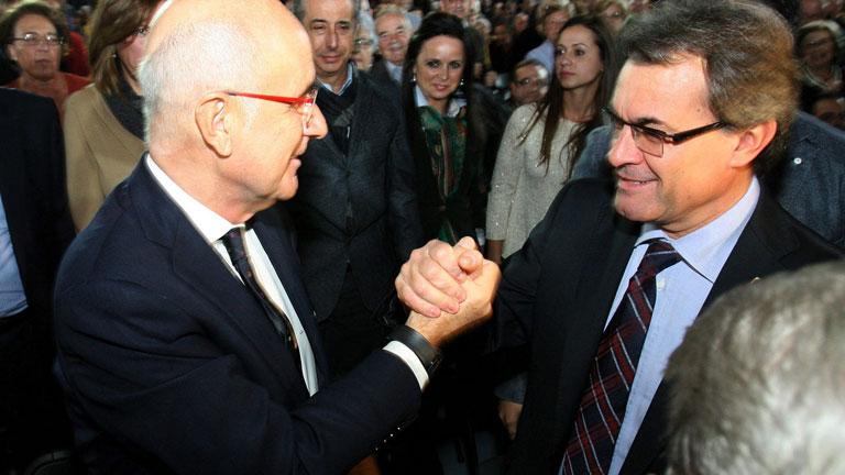 """La Fiscalía de Cataluña afirma que lo publicado sobre Artur Mas es """"radicalmente falso"""""""