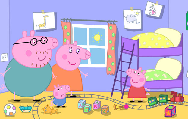 Las divertidas aventuras de Peppa Pig vuelven a Clan  Clan TV