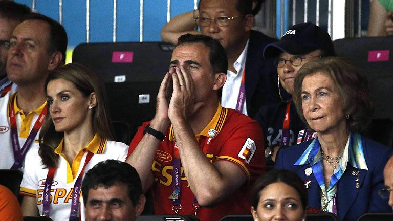 La Familia Real felicita y apoya a los deportistas españoles en Londres