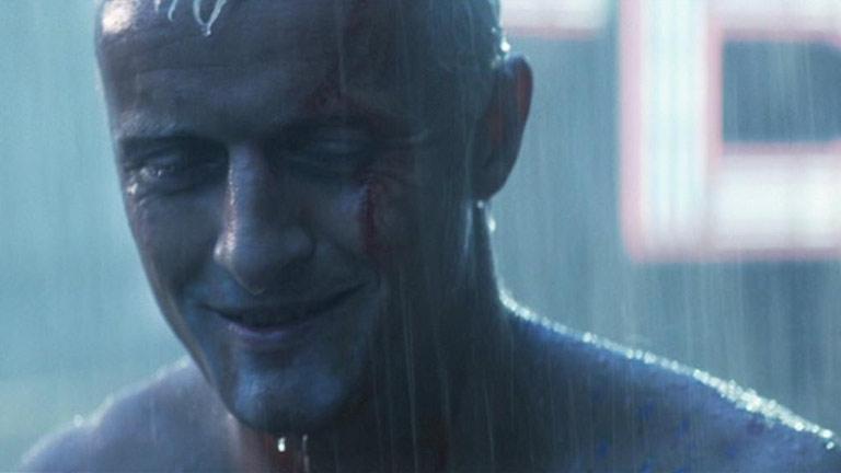 """La famosa escena """"Como lágrimas en la lluvia"""", de Blade Runner"""