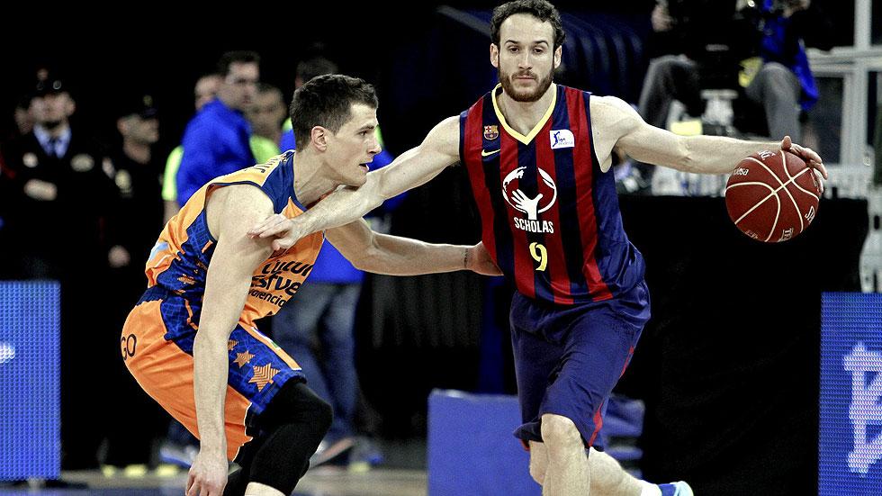 FC Barcelona 85 - Valencia Basket 80