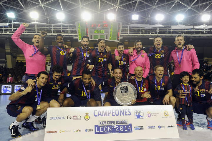 FC BARCELONA CAMPEÓN COPA ASOBAL