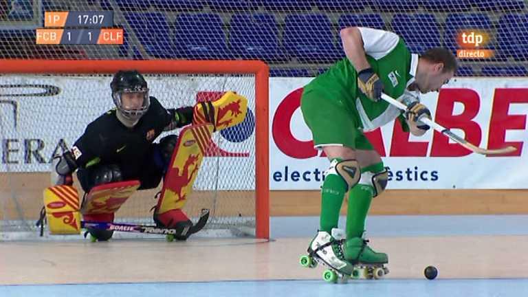 Hockey sobre patines - Liga española: FC Barcelona - CP Calafell - 14/05/12