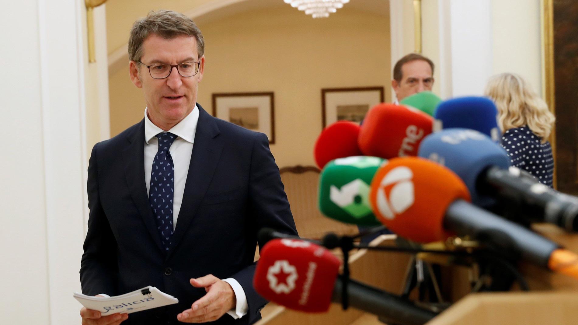"""Ir al VideoFeijóo, abochornado"""" por el siniestro de Vigo, pide explicaciones """"sin tapujos"""" al Puerto y al Ayuntamiento"""