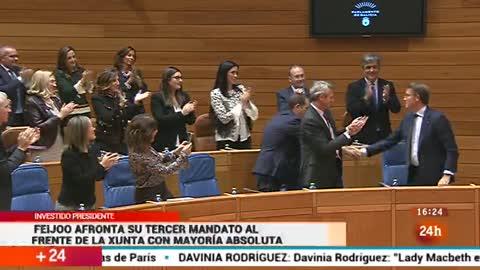Parlamento - Otros parlamentos - Feijóo presidente - 12/11/2016