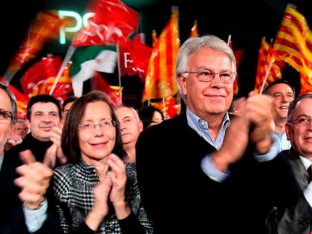 """Felipe González: """"El ruido del tripartito"""" ha impedido explicar la buena gestión de Montilla"""