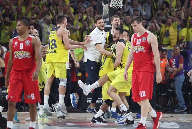 El Fenerbahce ha vencido en la final de la Euroliga a Olympiacos.