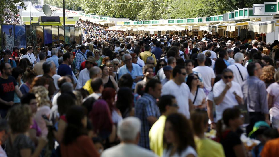 La Feria del Libro de Madrid incrementa sus ventas un 3,5%