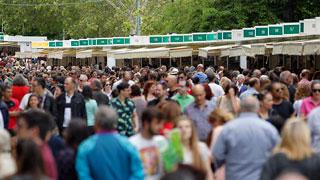 La Feria del Libro de Madrid se consagra a Cervantes