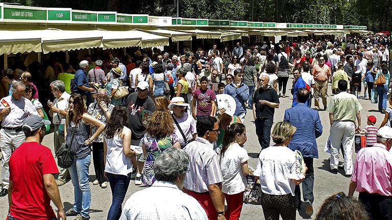 La feria del libro de Madrid termina este domingo