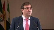 Ir al VideoFernández Vara toma posesión como presidente de Extremadura