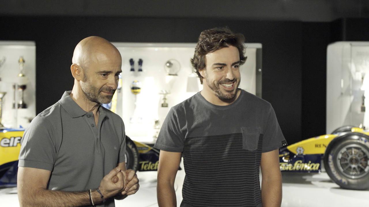 Fernando Alonso, primer invitado en 'Desafía tu mente'