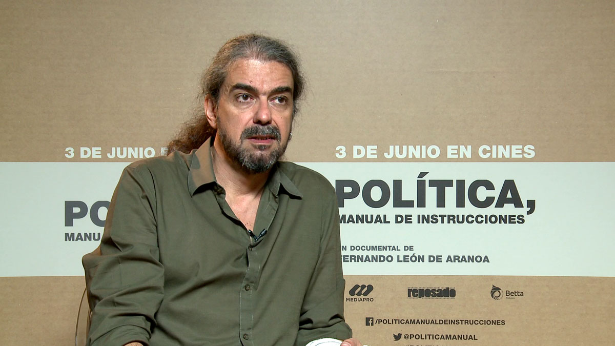 "Fernando León de Aranoa: ""Podemos ha aportado creatividad a la política"""