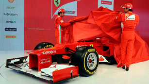 Ferrari presenta su nuevo F2012