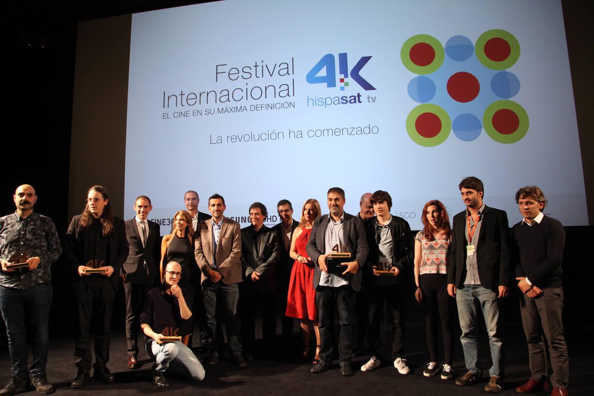 El Festival de Cortos Hispasat 4K celebró su gala en San Sebastián