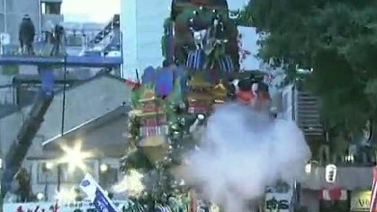 El festival japonés Hakata, una mezcla entre Semana Santa y Fallas
