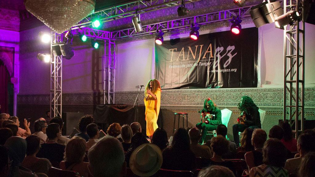 Festival de jazz multicultural en Tánger