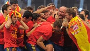 Fiesta por todo lo alto para poner el broche a una Eurocopa histórica
