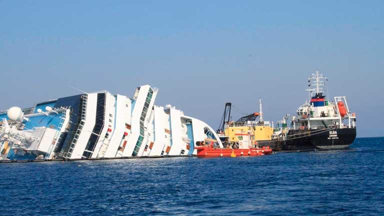 Finaliza la extracción de carburante en el Costa Concordia