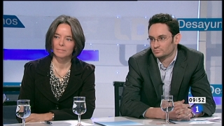 Los desayunos de TVE - Fiona Ortiz y Mathieu de Taillac, corresponsales