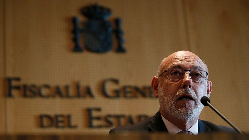 El fiscal general del Estado comunica la dimisión de Manuel Moix, fiscal jefe Anticorrupción