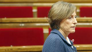 Ir al VideoLa Fiscalía catalana acusa a la presidenta del Parlament de permitir que se votara la hoja de ruta independentista
