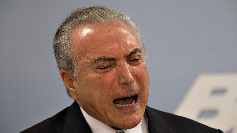 La Fiscalía General de Brasil acusa al presidente Temer de obsrucción a la Justicia